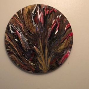 Round Tree of Blaze Painting 2XHP